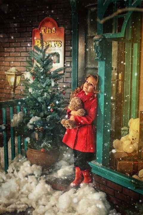 I Wish Upon A Star That Christmas Scenes Christmas Photography Christmas Paintings