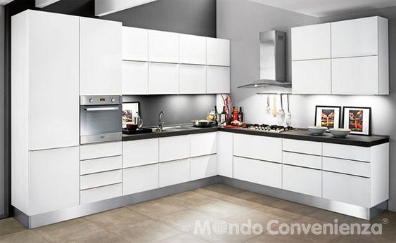 Cucina Alice - Mondo Convenienza | final kitchen | Pinterest ...