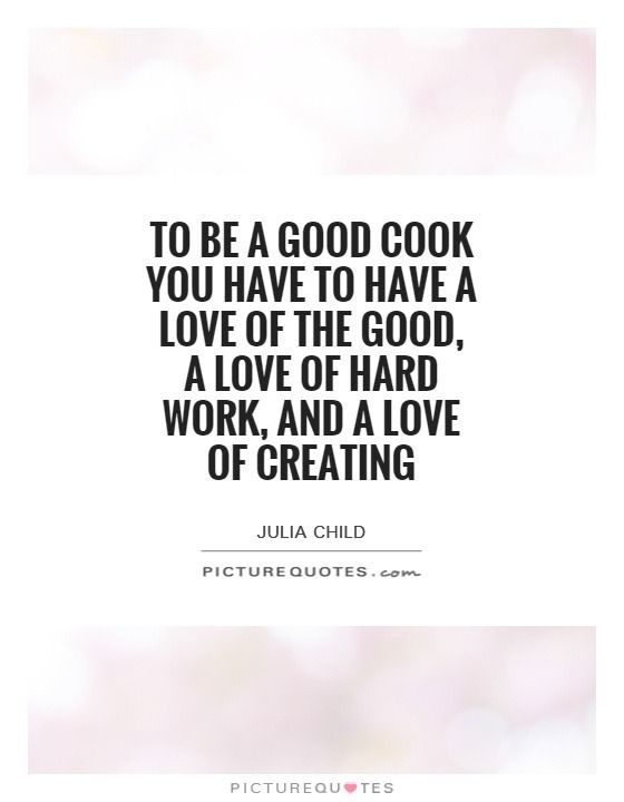 Famous Chef Quotes