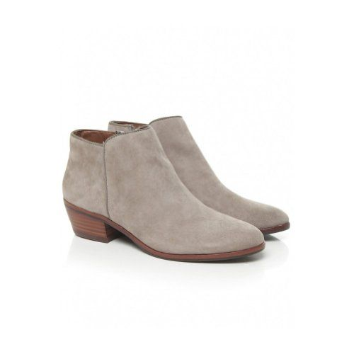 Amazon.com: Sam Edelman Women&39s Petty Suede Ankle Boots Beige