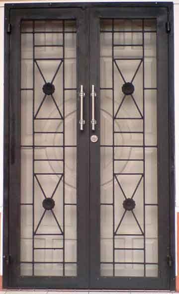 45 Gambar Model Teralis Jendela Minimalis Desainrumahnya Com Jendela Rumah Pintu