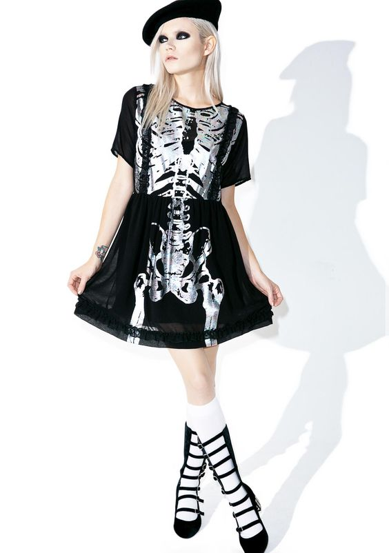Iron Fist Wishbone Halo Dress