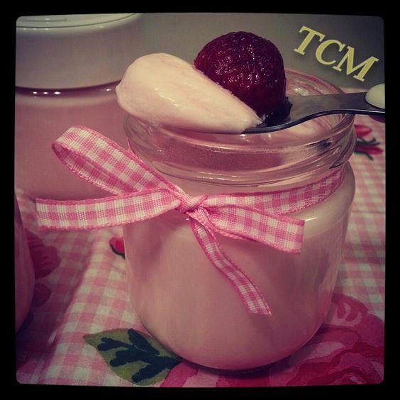 ThermoCocinaMix: Yogur de fresa (sin fresas)