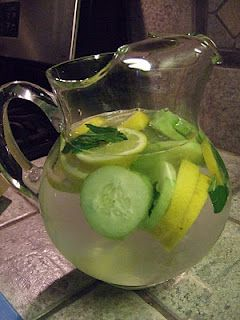 This works! How to make Sassy Water! Not only is it tasty, but sassy water is touted as a way to help you shed some extra pounds around your midsection by eliminating a buildup of contaminants, fat, and excess water weight.  This is actually really tasty! It's very refreshing!