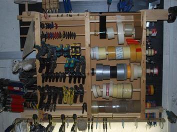 deckenutensilo werkzeug an die decke h ngen ordnung pinterest decken und werkzeuge. Black Bedroom Furniture Sets. Home Design Ideas