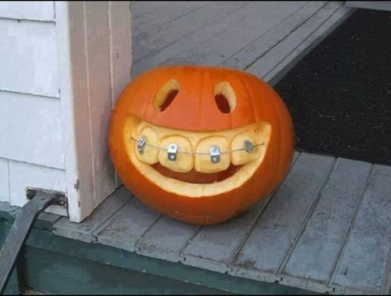 Dental pumpkin