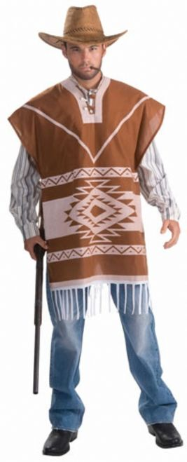 Western Poncho Cowboy Costume | Tassels, The western and ...