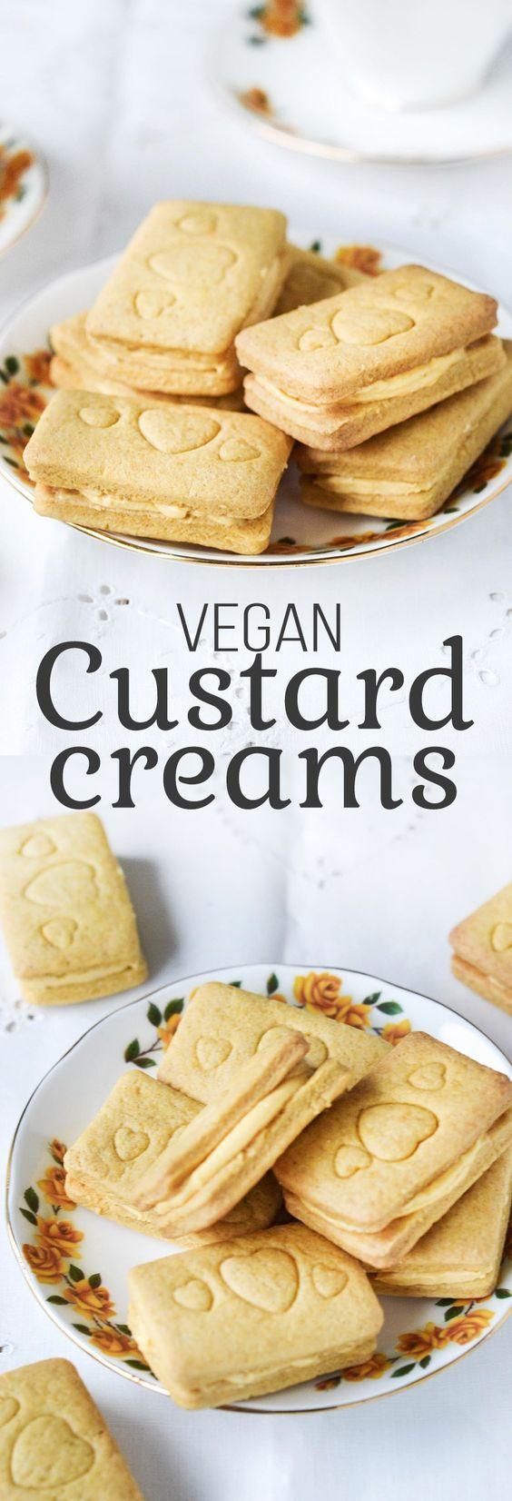 Vegan Custard Creams