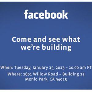 qué trama #facebook ? será un #facebookphone ?