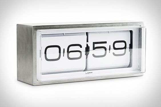 We're big fans of vintage flip clocks — this particular Uncrater keeps one on his desk — but unless you get lucky at a local vintage furniture store, your odds of finding a genuinely great one are pretty slim. Instead, you could just order this Brick Flip Clock ($350). It features retro-styled black numbers set on white backgrounds, a solid, stylish stainless steel case, and is available in both 24- and 12-hour models