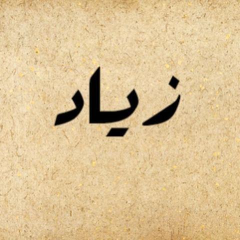 اسم زياد مكتوب علي صور Arabic Calligraphy Image Calligraphy
