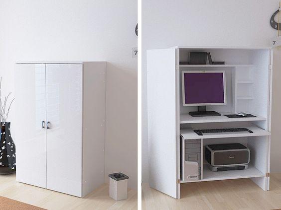 Bureau ferm pour ordinateur recherche google bureaux for Meuble ordinateur ferme