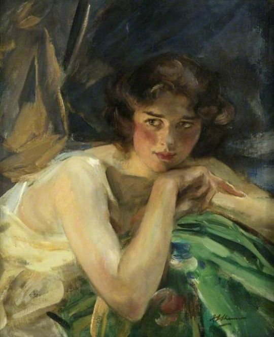 James Jebusa Shannon Year: 1922 Type: Oil on canvas