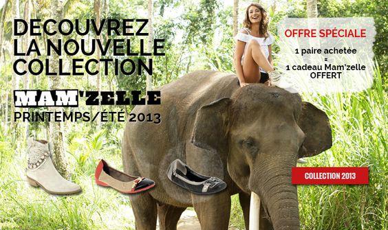 Bottines d'été, ballerines vernies, chaussures été ouvertes, découvrez la nouvelle collection de chaussures Mamzelle printemps été 2013. Modèles Artic, Quodi, Sali, Mira, Titus, Nadima.