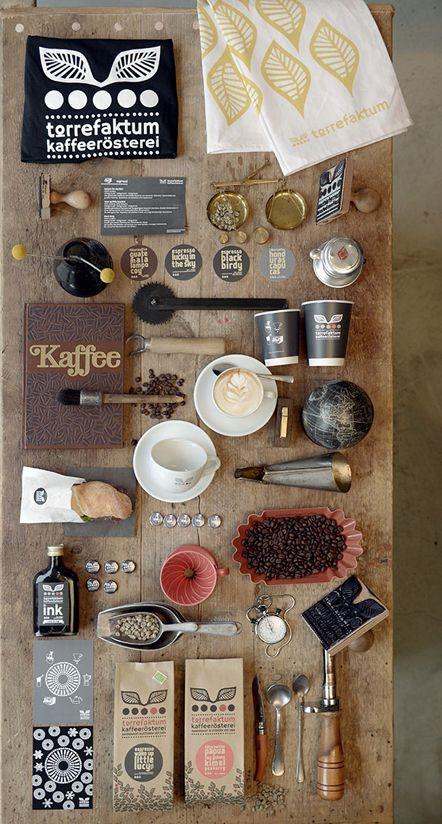 #Corporate #Design für die Kaffeerösterei Torrefaktum / Design by Dörte Benzner // umweltfreundliche Produkte – Bio-Materialien - lokal