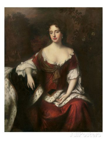 Portrait of Anne, Queen of Great Britain and Ireland Giclee Print by William Wissing at AllPosters.com