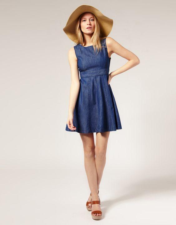 denim bridesmaid dresses - Bing Images