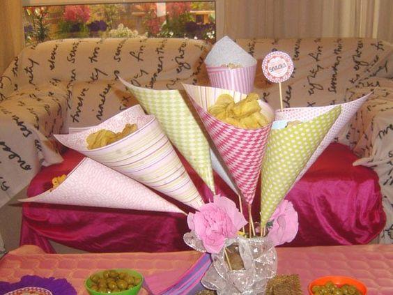 Idea to serve appetizers  Fiesta de Alicia en el País de las Maravillas, paso a paso. | Klart Kraft