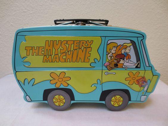 mystery machine lunch box