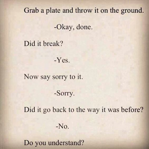 Think it through