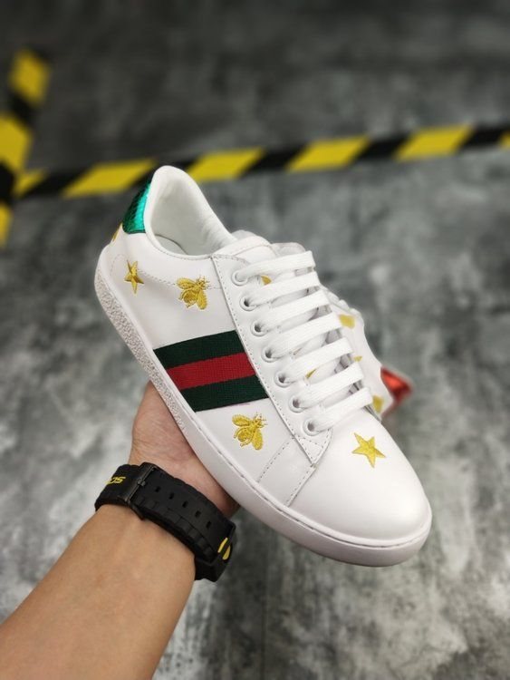Women's Gucci Ace Embroidered 'Bees and