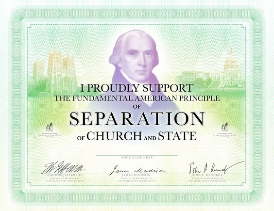 a paper on separation of church and state in the united states This contest is open to all high school juniors and seniors in the united states   women and religious minorities in the name of religion attempts to change the.