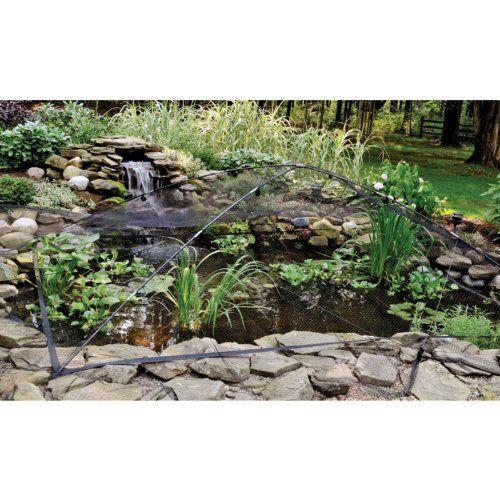Pinterest the world s catalog of ideas for Garden pond netting cover