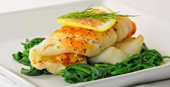 The Best Food Ever: Crab Stuffed Haddock