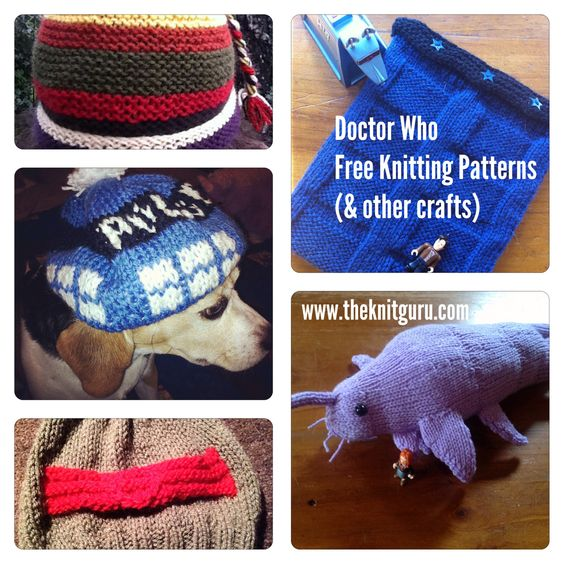 Dr Who Knitting Patterns : Doctor who knitting, Knitting patterns and Doctor who on Pinterest