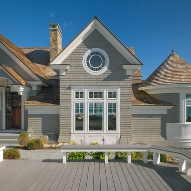 Gray exterior house colors design ideas, pictures, remodel and ...
