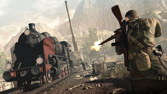 Sniper Elite 4 - trem