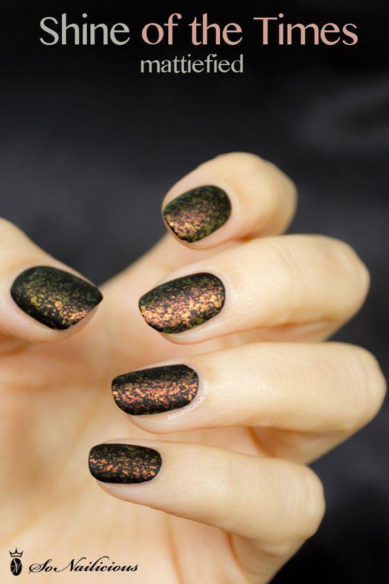 matte nail art shine of the times essie