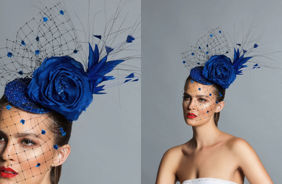 Fascinators sold wholesale at The Mack Agency