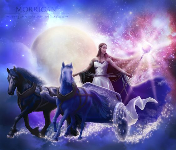 Godess of Moon by Morrigan-LE on @DeviantArt