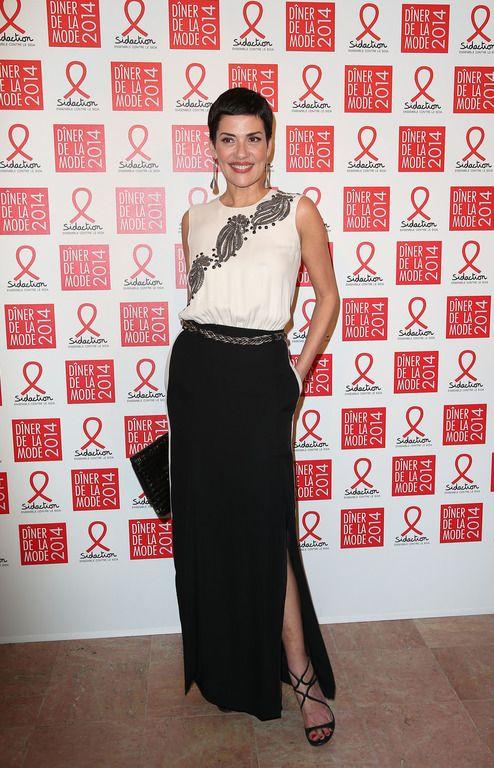 Cristina Cordula à Paris le 23 janvier 2014