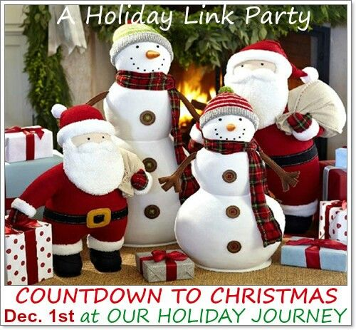 Join the party bring your Christmas posts! http://ourholidayjourney.blogspot.com/2016/12/count-down-to-christmas-link-party.html:
