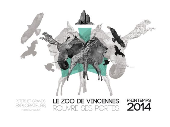 the quick brown fox jumps over the lazy dog: Zoo de Vincennes