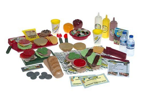 Toy Food Sets : Play food sets just like home subway deluxe