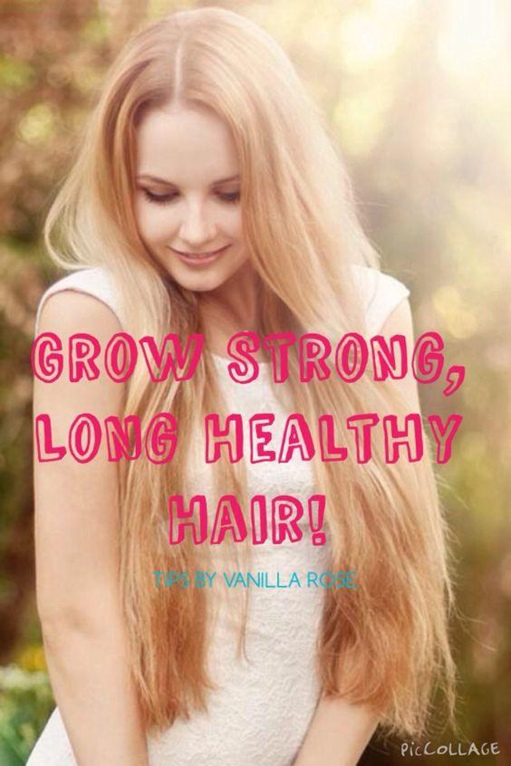How To Get Long, Strong Hair #Beauty #Trusper #Tip
