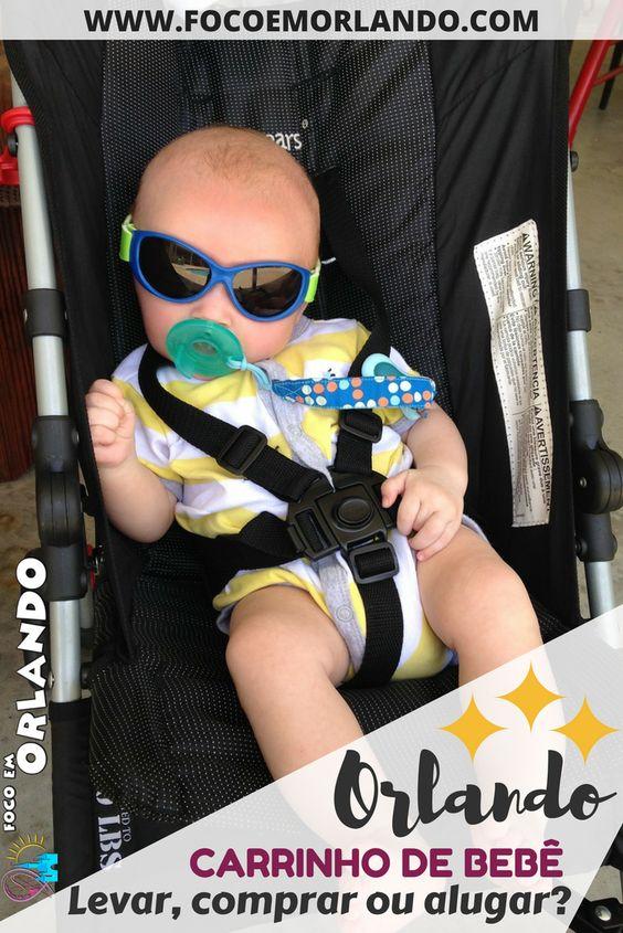 Carrinho de bebê: levar, alugar ou comprar para sua próxima viagem para Orlando?