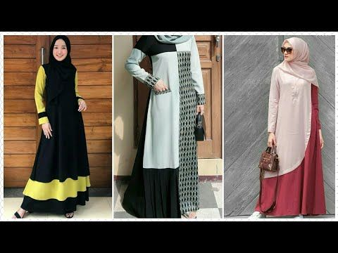 27 Model Baju Gamis Modern Original Branded Terbaru 2020 Youtube Moslem Fashion Fashion All About Fashion
