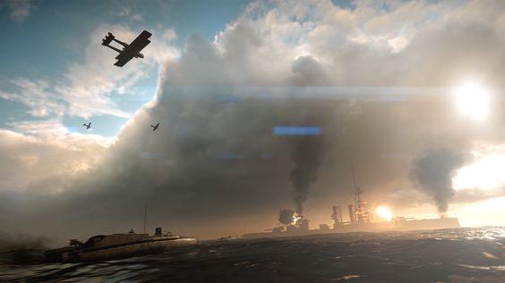 飛行機と戦艦