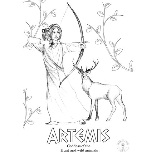 Greek Gods Coloring Pages Be Different Baby Greek Gods And Goddesses God Illustrations Coloring Books