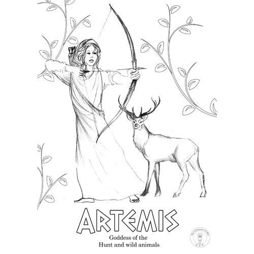 Greek Gods Coloring Pages Be Different Baby God Illustrations Greek Gods And Goddesses Greek Gods