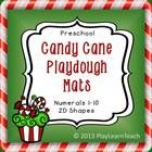 These multi-purpose Candy Cane Preschool Playdough Mats are a fun, open-ended, candy-themed activity that will make a great addition to your toddle...