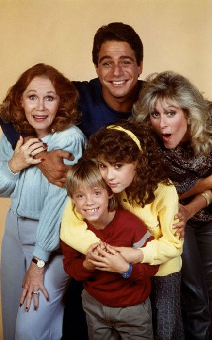 """Who's The Boss? theme song // """"Tony Micelli, a retired baseball player, becomes the housekeeper of Angela Bower, an advertising executive in New York. Together they raise their kids, Samantha Micelli and Jonathon Bower in Connecticut, with help from Mona Robinson, Angela's man-crazy mother."""" -- starring Tony Danza, Judith Light, Katherine Helmond, Alyssa Milano, Danny Pintauro"""