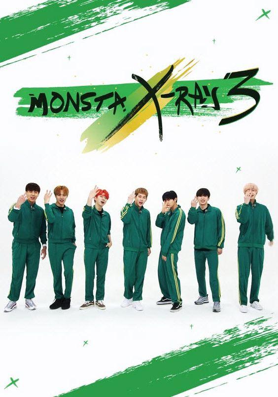 @몬스터액스 #MONSTERX #몬스타엑스, 단독 예능 '#몬스타엑스레이 시즌 3' 포스터 전격 공개