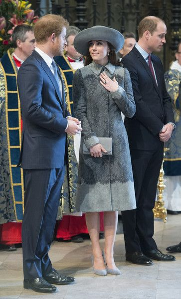 Kate Middleton Photos - The Royal Family Attends The Commonwealth Observance Day Service - Zimbio: