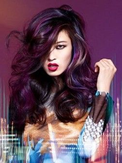 Hair Color | Subtle Purple Undertones - 18.5KB