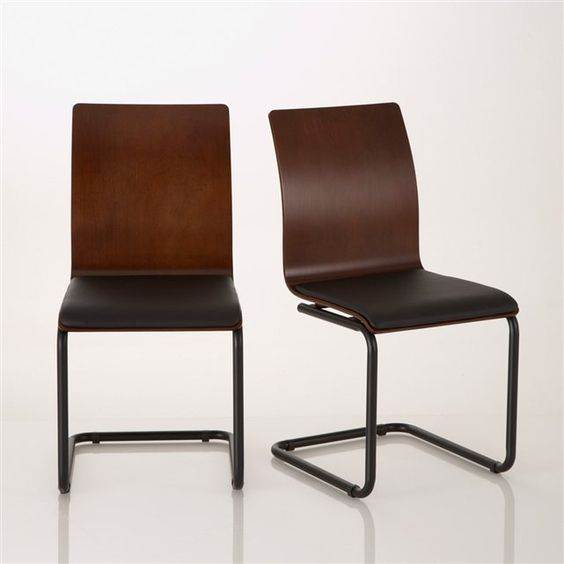 Lote de 2 cadeiras design vintage, Watford
